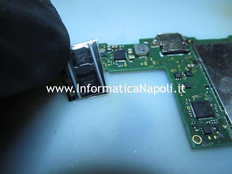 sostituzione ic gestione ricarica batteria switch BQ24193