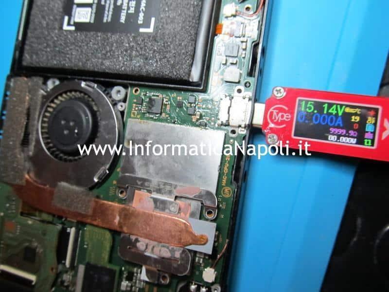 riparazione nintendo switch sostituzione M92T36 problema ricarica alimentazione