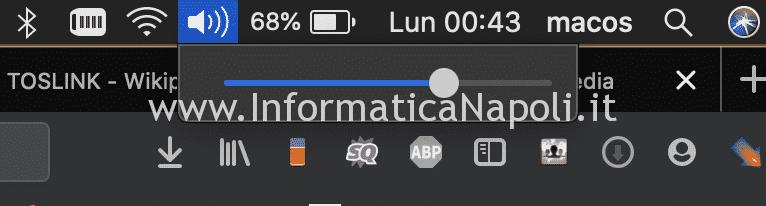 macbook senza audio e luce rossa riparato
