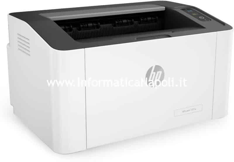 come installare HP LaserJet 107w su MacBook iMac Mac