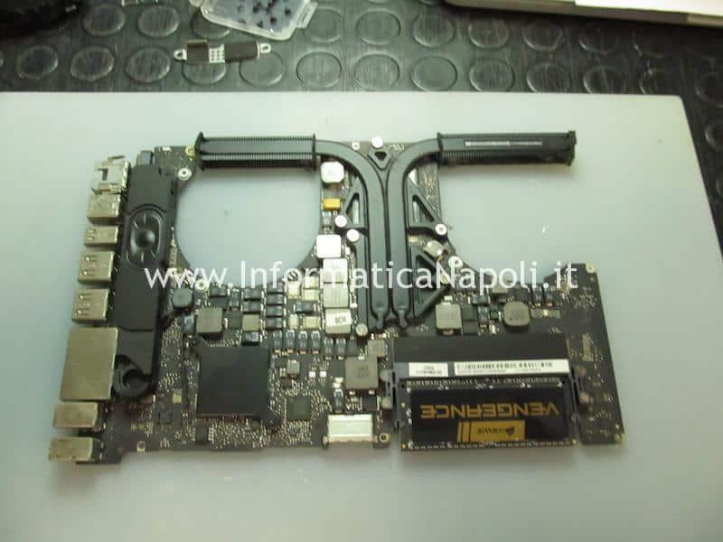 come riparare macbook pro 15 17 2011 problemi artefizi