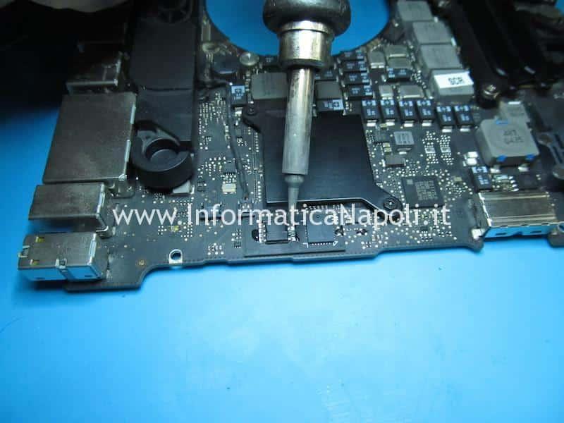 riparazione disattivazione chip grafico AMD difettoso su MacBook pro 15 17 2011