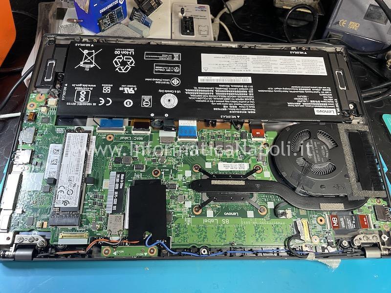 come riparare lenovo Thinkpad T490s scheda madre NM-B891