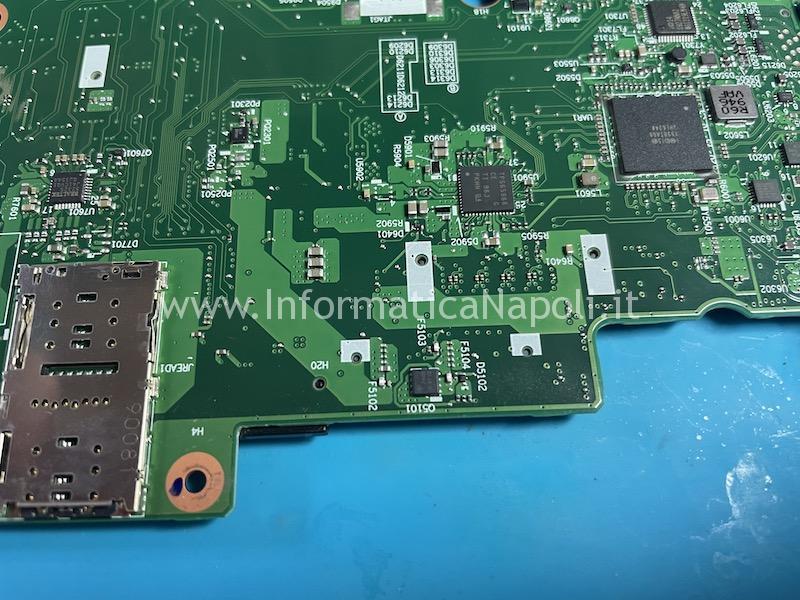problema schermo nero lenovo Thinkpad T490s scheda madre NM-B891