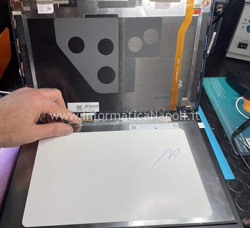 assistenza lenovo Thinkpad T490s scheda madre NM-B891 riparato funzionante si accende