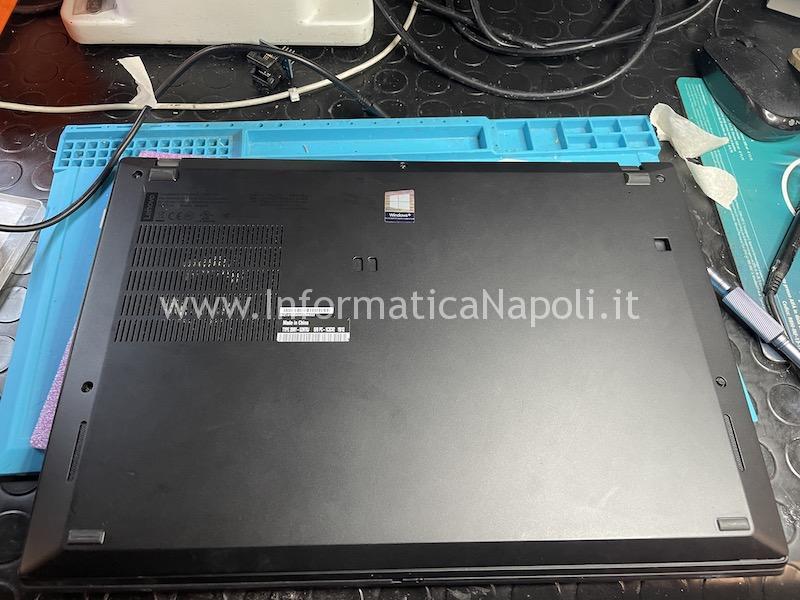 Problema schermo nero backlight lenovo Thinkpad T490s scheda madre NM-B891
