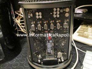 confronto dischi ssd nvme m.2 su Mac Pro 2013 cilindro