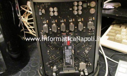 Upgrade Mac Pro 2013 cilindro con ssd NVMe m.2 | Assistenza Apple