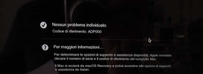problama Mac si blocca dopo dopo aggiornamento macos BigSur