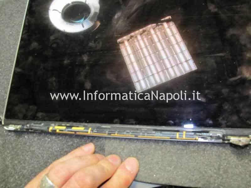 sostituzione cavo video macbook pro 13 2012 2013 2014 2015 a1502 a1425 non si accende schermo illuminato