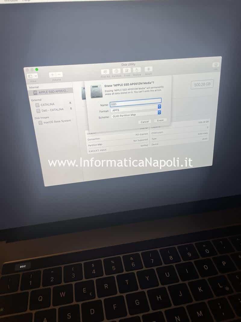 come riparare ripristinare macbook pro 13 15 16 che non si accende