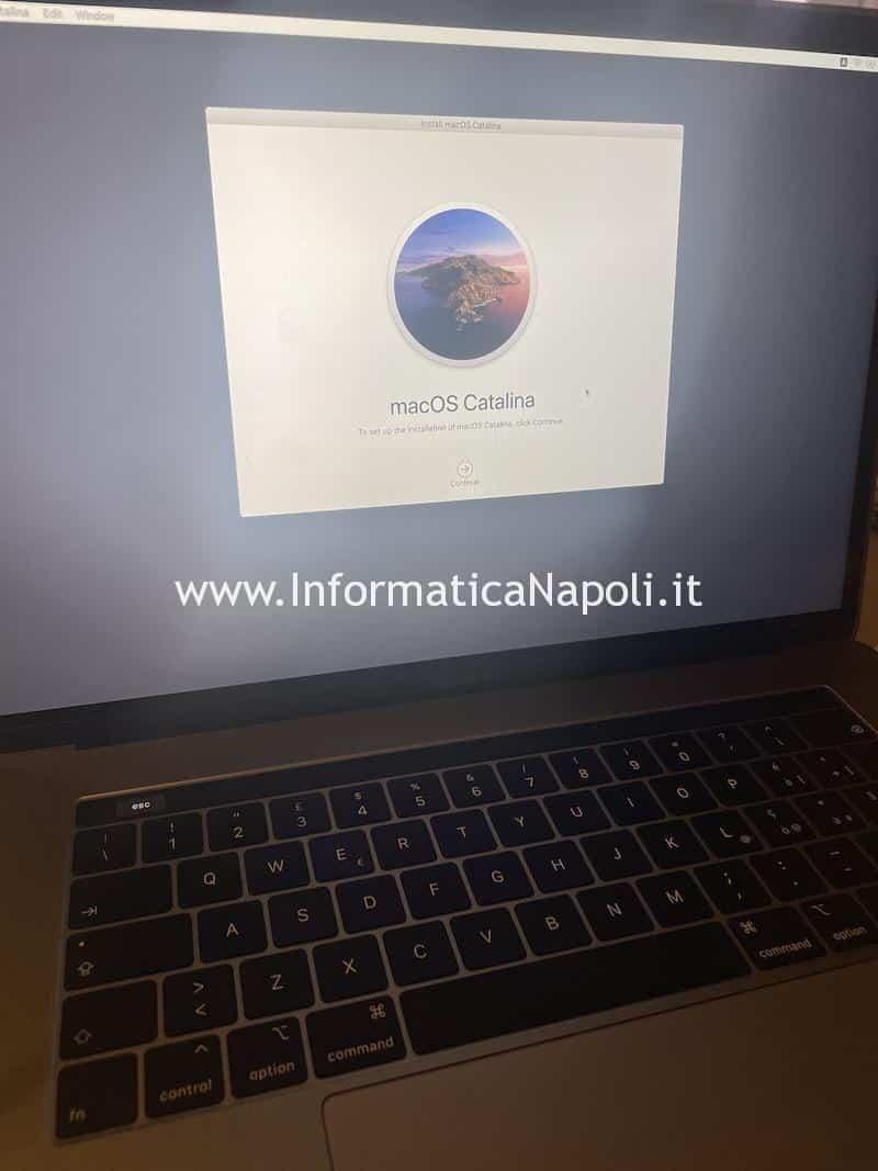 macbook non si accende dopo aggiornamento big sur riparato