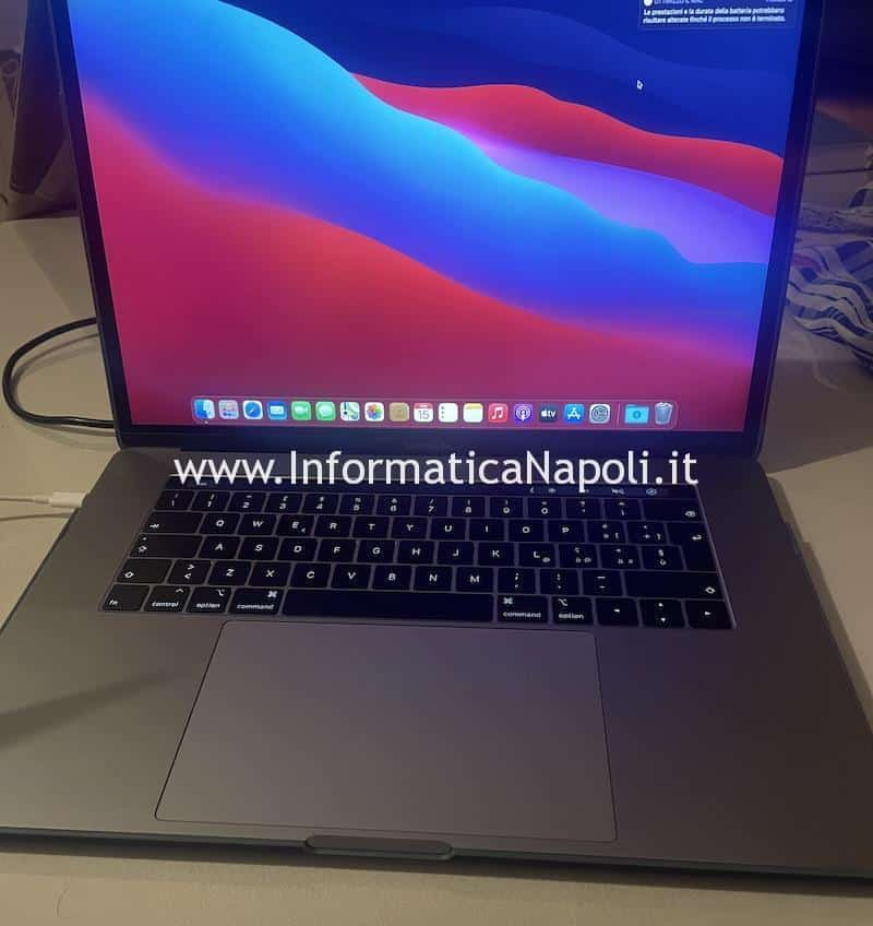 installazione big sur macbook dopo blocco crash schermo nero