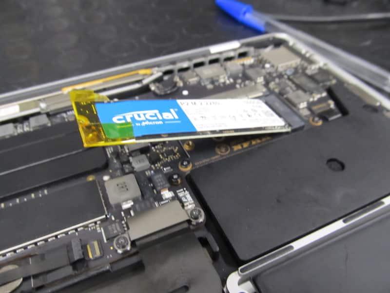 upgrade crucial apple macbook pro 13 a1708