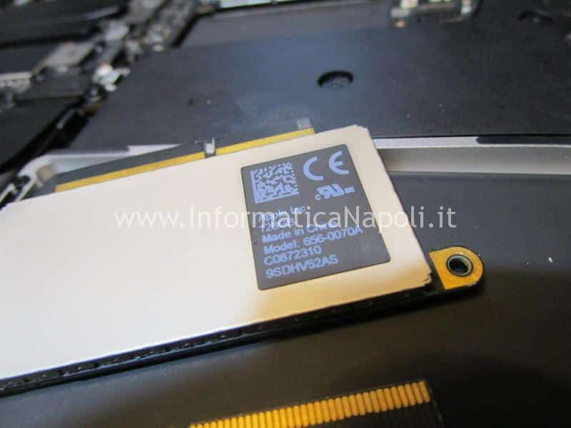 confronto dischi ssd Upgrade ssd MacBook Pro 13 2016 | 2017 A1708 NVMe m.2 PCIe 656-0070A
