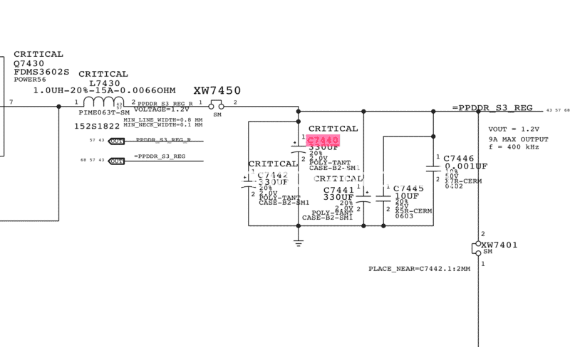 MacBook Pro 13 A1502 non si accende guasto scheda madre motherboard 820-4924-A