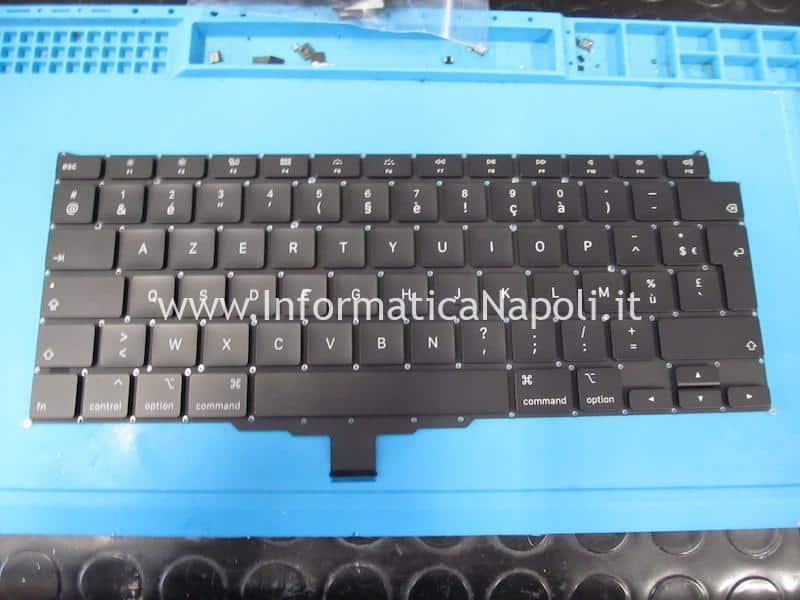 modifica tasti italiano sostituzione tastiera Apple MacBook Air retina 13 2020 A2179 MacBookAir 9,1 danni liquido