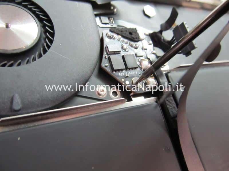 problemi tastiera Apple MacBook Air retina 13 2020 A2179 MacBookAir 9,1 danni liquido