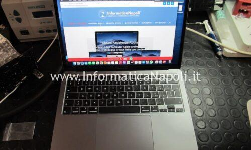 Sostituzione tastiera Apple MacBook Air 13 2020 A2179 per danni da liquido