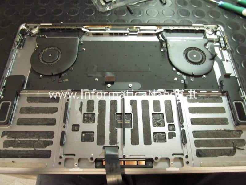 Come sostituire batteria MacBook Pro 15 Touchbar a1707