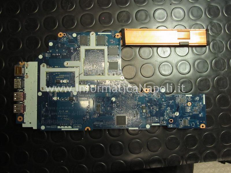 riparazione scheda madre Lenovo Y50-70 LA-B111P ZIVY2 bios ENE