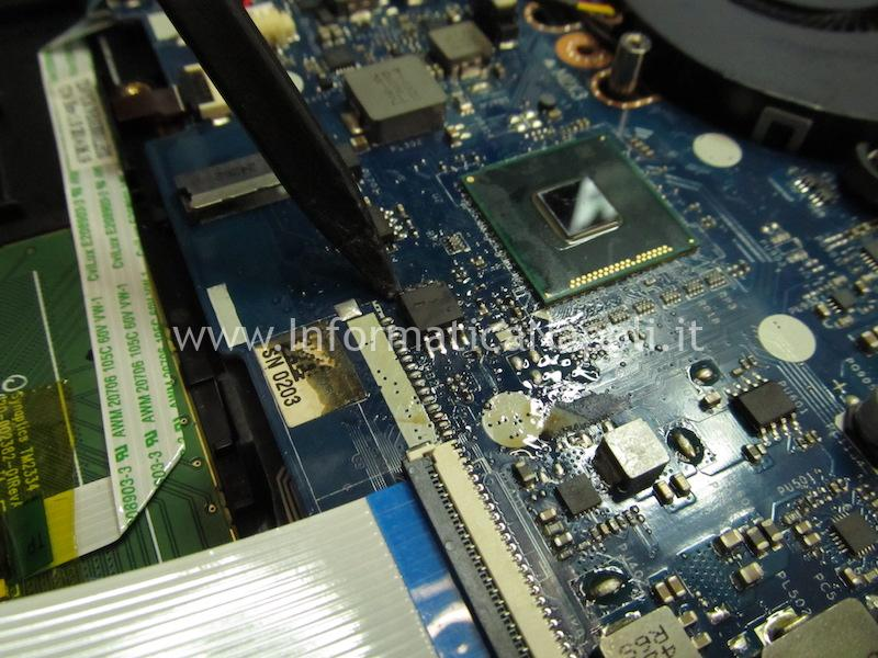 RIPARAZIONE scheda madre Lenovo Y50-70 LA-B111P ZIVY2