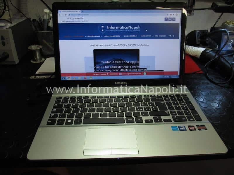 Samsung NP275E riparato funzionante