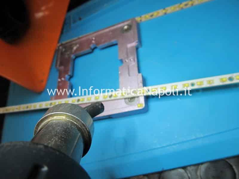 risaldare LED display riparazione barre LED imac display cinema thunderbolt