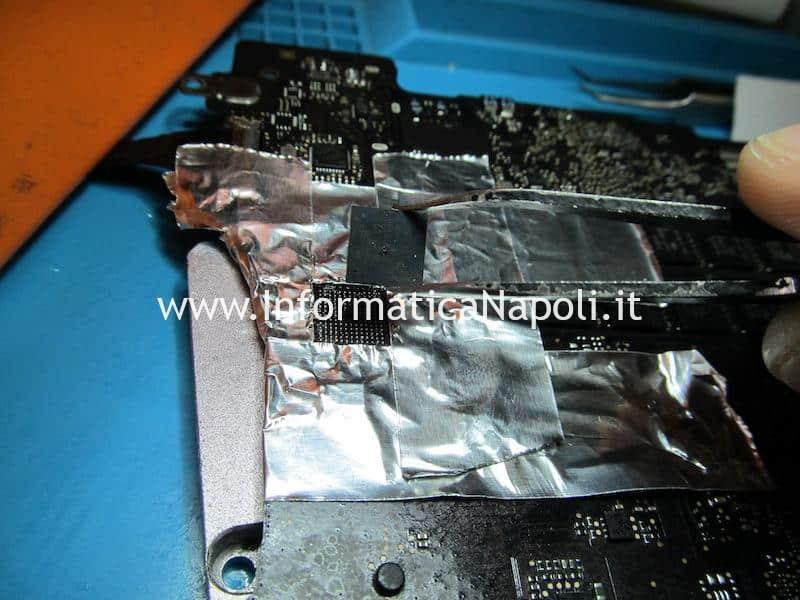 sostituzione chip smc macbook non carica batteria