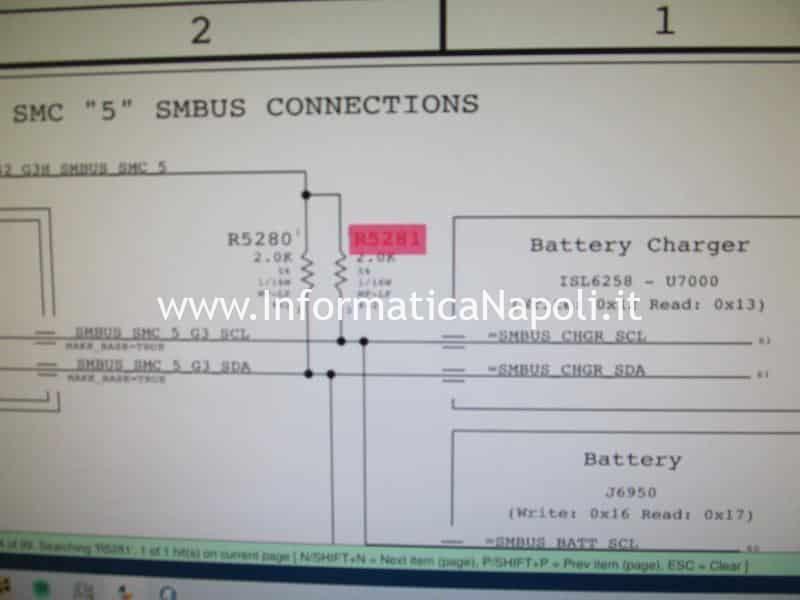 macbook non rileva batteria problema smc