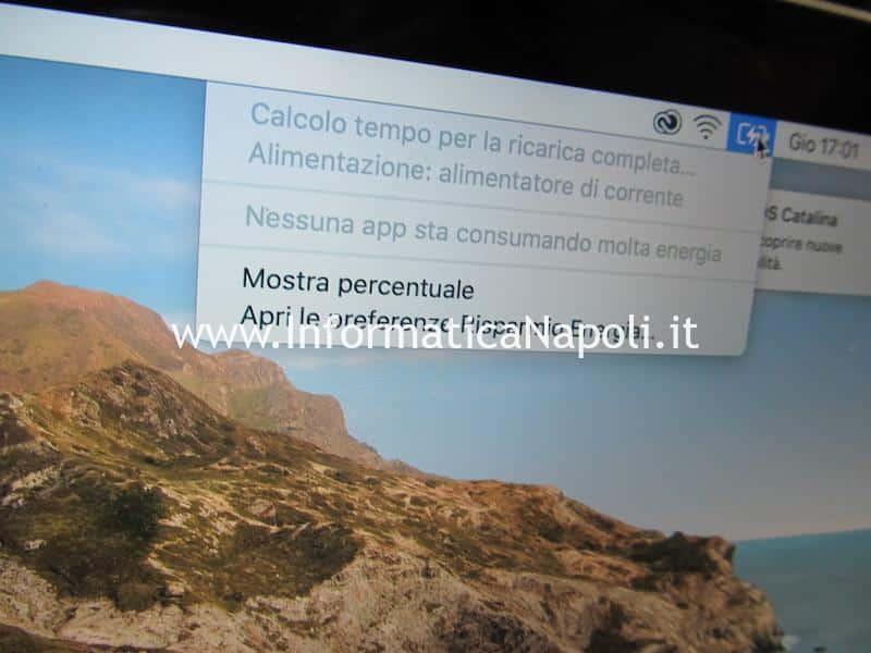 problema mancata ricarica maccbook pro 15 a1398 2012 2013 2014 2015 risolto