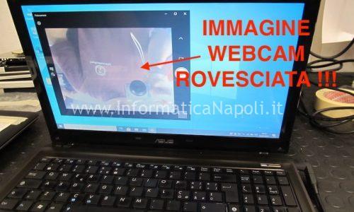 Problema immagine rovesciata WebCam sottosopra su pc Asus