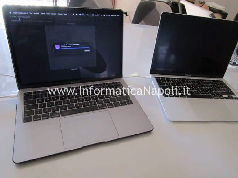 Modalità DFU per ripristino firmware su MacBook Intel e Silicon M1