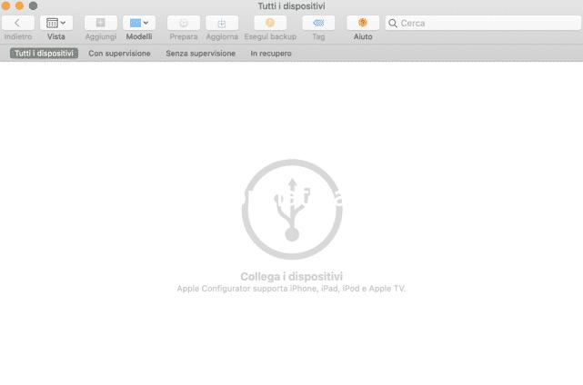 apple confugation 2 come portare in DFU macbook