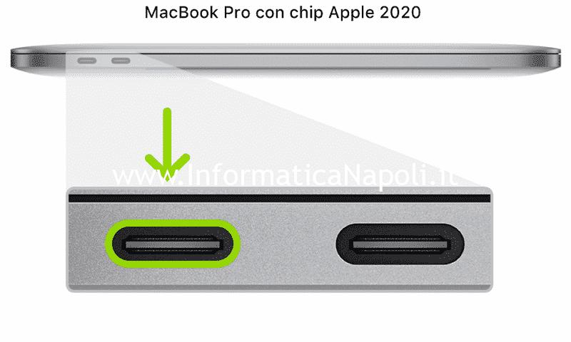ripristino riattivazione macbook dfu mode m1 silicon