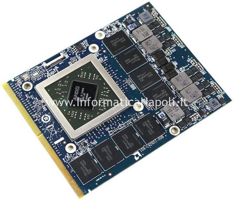 Problema accensione scheda video AMD HD 7970M Dell Alienware M17x R4 P11E