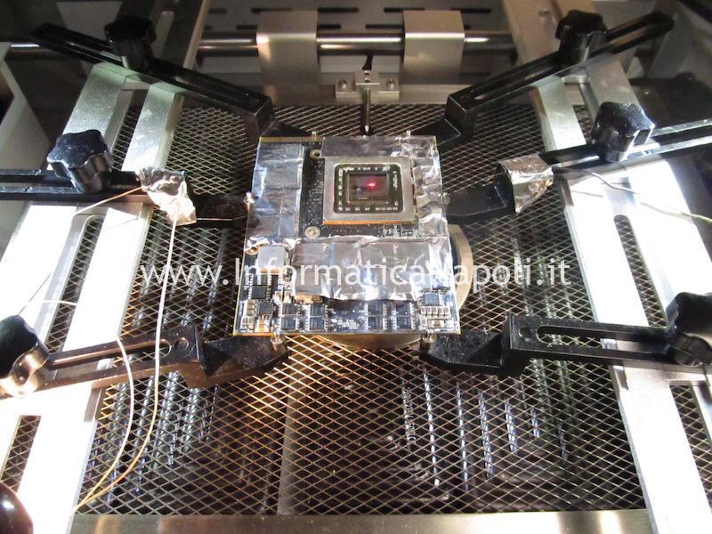 dissipatore reballing scheda video AMD HD 7970M Dell Alienware M17x R4 P11E