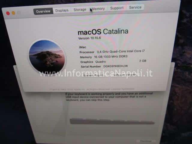 installare mojave scheda nuova su imac 21 27 2009 2010 2011 a1311 a1312