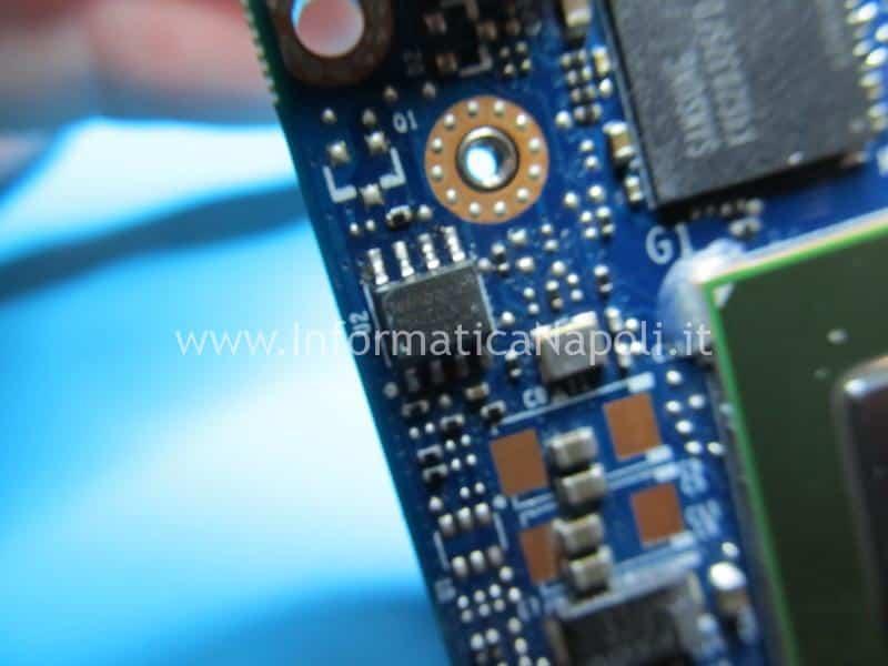 riprogrammazione bios firmware scheda video nuova iMac A1311 21.5 2009 2010 2011