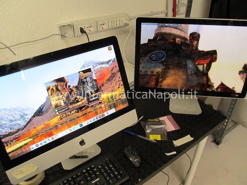 imac funzionante dopo installazione e sostituzione scheda video nuova iMac A1311 21.5 2009 2010 201