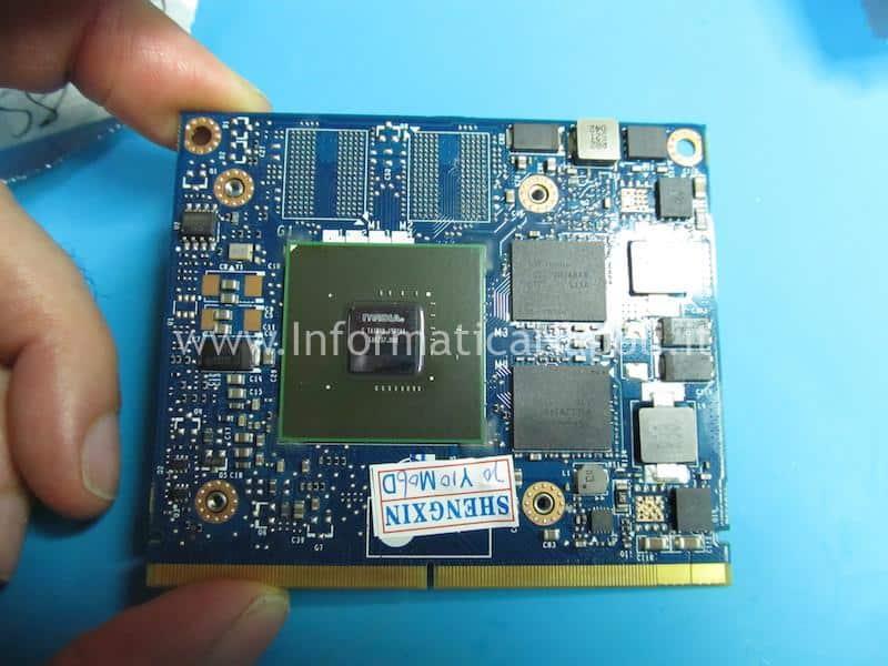 installazione e sostituzione scheda video nuova iMac A1311 21.5 2009 2010 2011 1gb VRAM