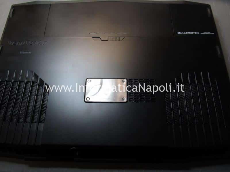 problema schermo nero Dell Alienware M17x R4 P11E