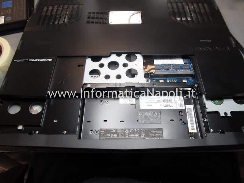 Dell Alienware M17x P11E non si avvia per problemi di scheda video
