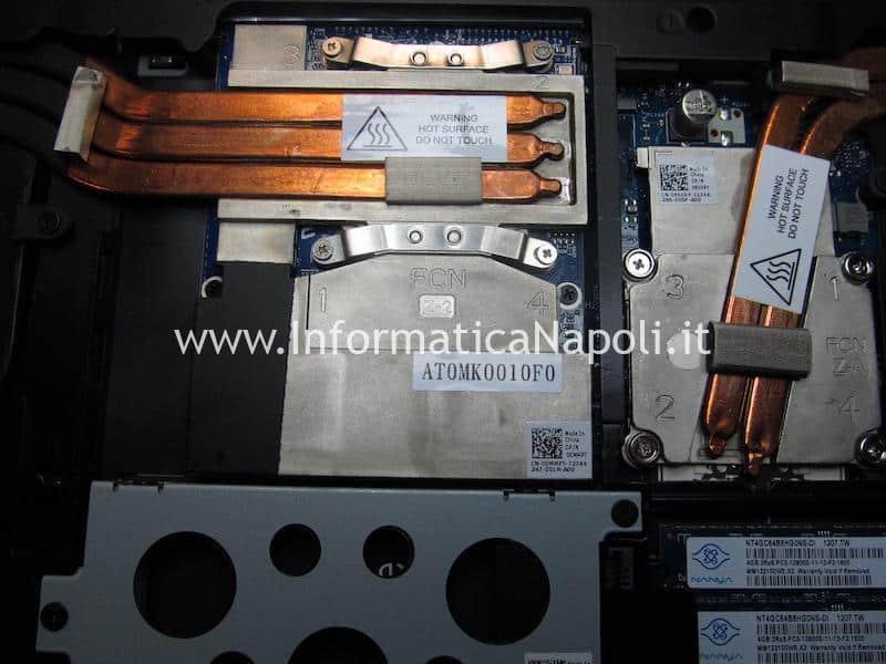 Problemi Dell Alienware M17x P11E non si avvia per problemi di scheda video