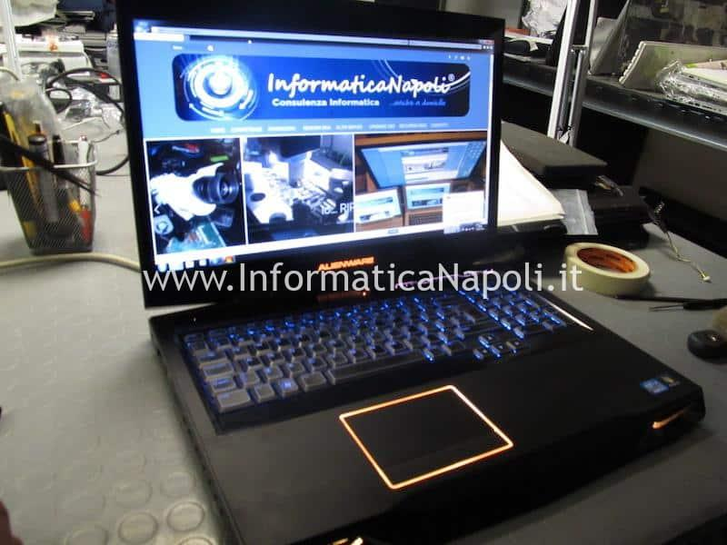assistenza Dell Alienware M17x R4 P11E riparato funzionante