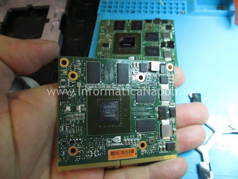 Esempio installazione scheda nVidia Quadro con 3GB VRAM su iMac 27 e catalina