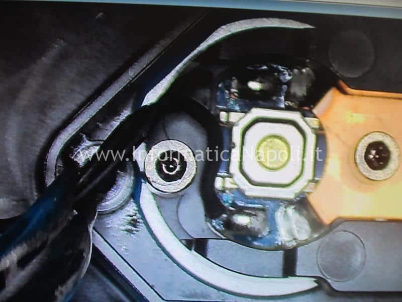 problema bottone accensione powerbutton apple imac A1418 A1419