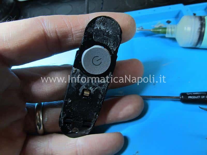 riparazione bottone accensione powerbutton apple imac A1418 A1419 problema spegnimento