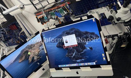 Riparazione o sostituzione Bottone accensione Power iMac 21.5 A1418   27 A1419 dal 2013